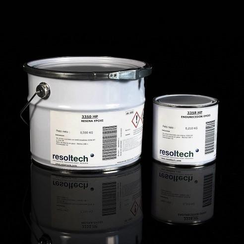 De la colle époxy, flexible Resoltech 3350HP/3358HP