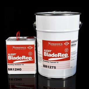 ALEXIT® BladeRep Topcoat 12 RAL 9018 weiß - Malerei Polyurethan