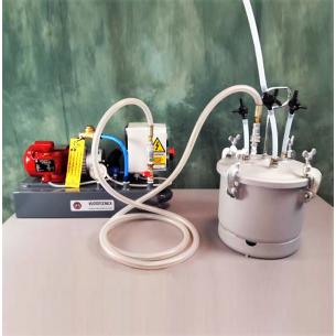 DO10VTL4M vakuumpumpe 4 m3/h-trap-harzen, 8 liter