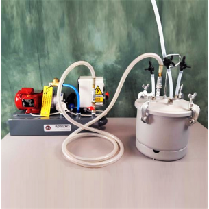 DO10VTL4M 4 m3/h Vacuum Pump with 8 liters Resin Trap