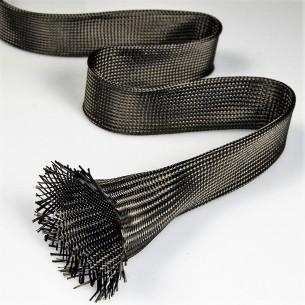 Malha de carbono tubular de 35 mm e 34 g/m linear para Pás de Padel