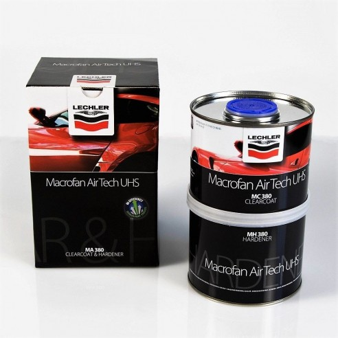 High gloss colorless polyurethane varnish MACROFAN MA380 Airtech UHS Clearcoat
