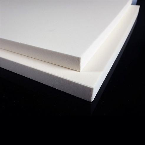 Feuille de Polyuréthane PU250 kgm3 550 x 320 x 20 mm