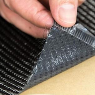 Prepreg Carbono-Epoxi Cosmético VTC212-C245T-HS-42% RW-1250 sarga 2x2 de 245 g/m2