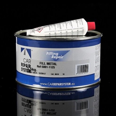 Fill Metal Polyester Filling (filled with Aluminium)