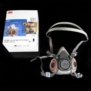 3M™ 6200 Reusable Half Face Mask Respirator