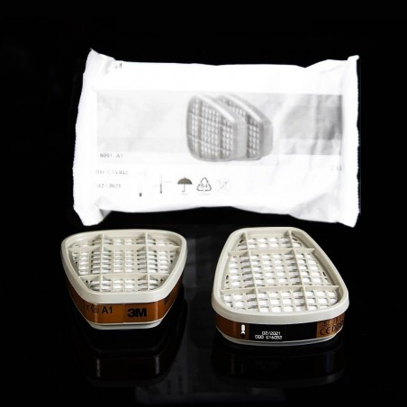 3M™ 6051 A1 Filtro para vapores orgánicos