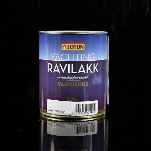 Ravilakk, Vernis brillant à base de bois de pétrole de la Chine et de l'ambre gris synthétique.