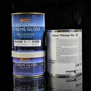 XTREME GLOSS, com Revestimento de poliuretano acrílico de dois componentes