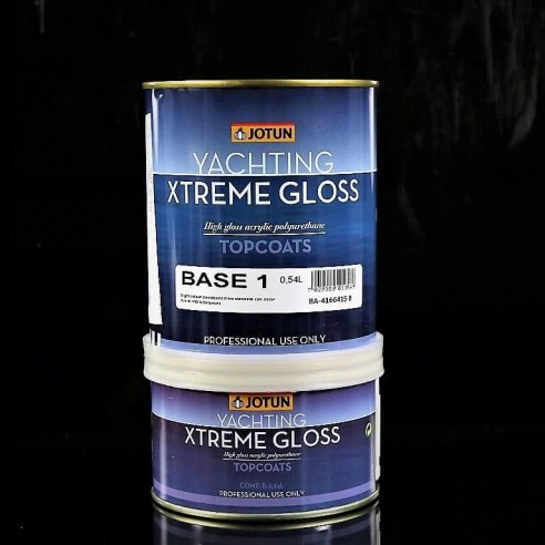 XTREME GLOSS, 2 component chemically curing acrylic polyurethane coating