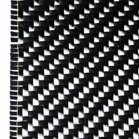 Tissu carbone 12K Sergé 2/2 600 g/m2