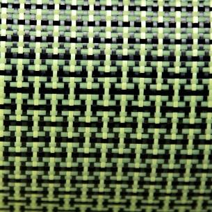 165 g/m2 Plain Kevlar/Carbon Fabric, 100 cm width