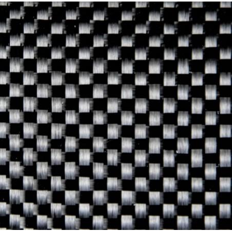200 g/m2 Plain Carbon 3K-Gewebe mit PA-Fixierung, 100 cm breit