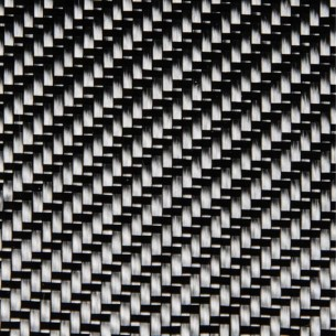 Di carbonio tessuto 3K twill di 2 x 2 Stile 452, e 200 g/m2, larghezza 100 cm
