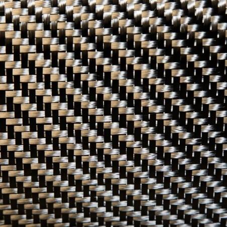 Des tissus de carbone en twill 3K 2 x 2 452 et 200 g/m2,