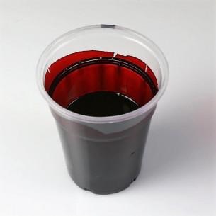 Tinta Translúcida Concentrada vermelho para Resina Epoxi e Vernizes