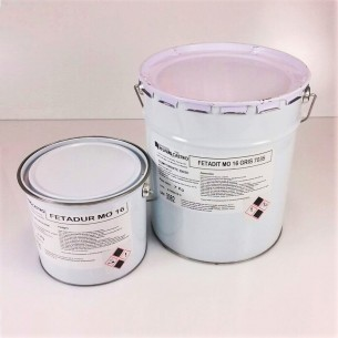 FETADIT MO 16 WHITE RAL 9018 epoxy Resin for flooring