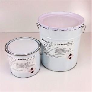 Resina autonivelante FETADIT MO 16 BLANCO RAL 9018 (7 kg A + 3 kg B)