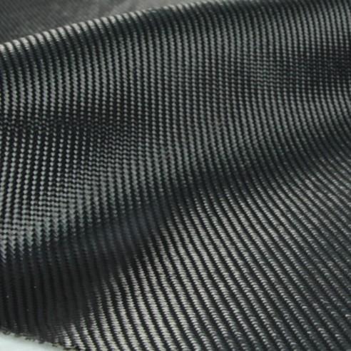 Tissu imitation carbone sergé 2 x 2 noir 200 g/m2