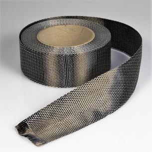 Fita de carbono unidirecional de 175 g/m2 Largura 10 cm