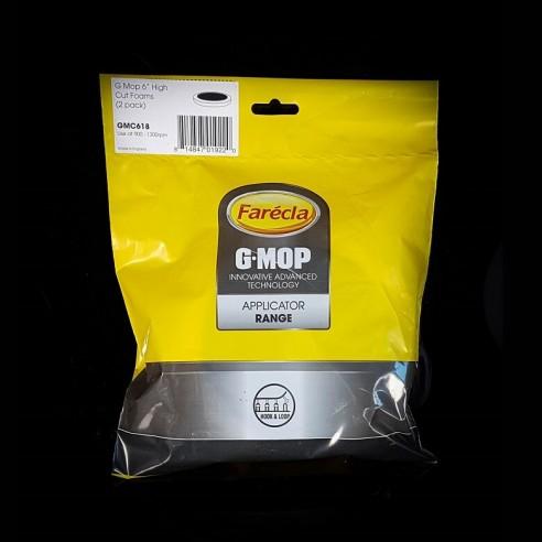 """G-Mop 6"""" High-Cut-Schaumstoff-Pad (2er-pack) 150 mm"""