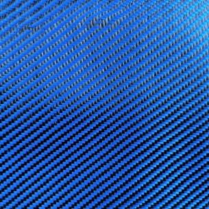Tecido de poliéster 200 g/m2 Azul, sarja 2/2, Cdd 200 T, largura 120 cm