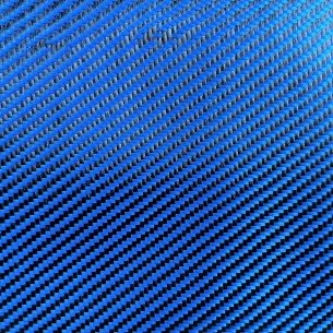 Tejido de poliéster 200 g/m2 Azul, sarga 2/2, DDc 200 T, ancho 120 cm