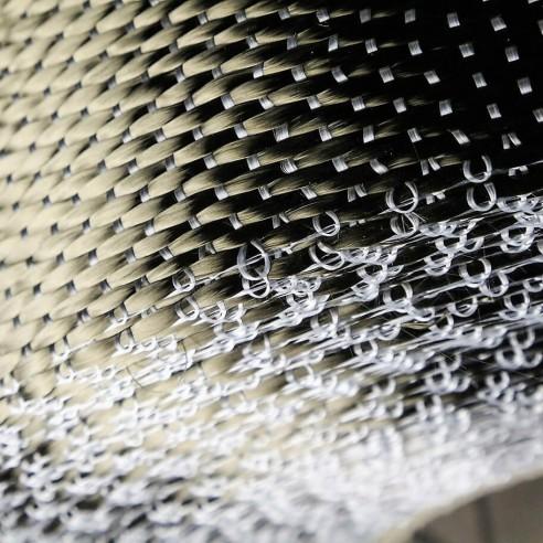 1200 g/m2 UD-Basalt-Gewebe, 250 mm breit