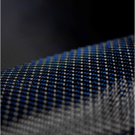 300 g/m2 Twill Carbon Fabric 300T Blue Thread