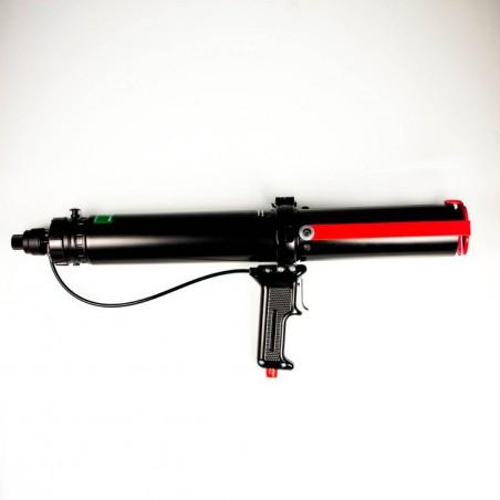 Pneumatische pistole für kartuschen Crestabond M1 und Bladerep AGW 10 400 g