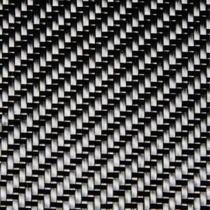 200 g/m2 3K Carbon Fabric Twill 2x2, 100 cm width