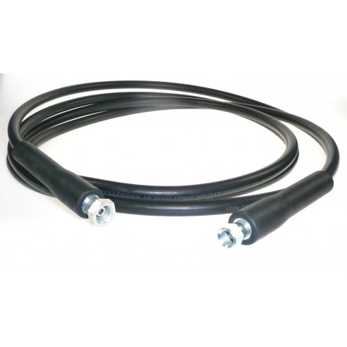 8 m long Black Rubber Hose for Infusion & RTM Adhesives TC42, TC43 and TC49