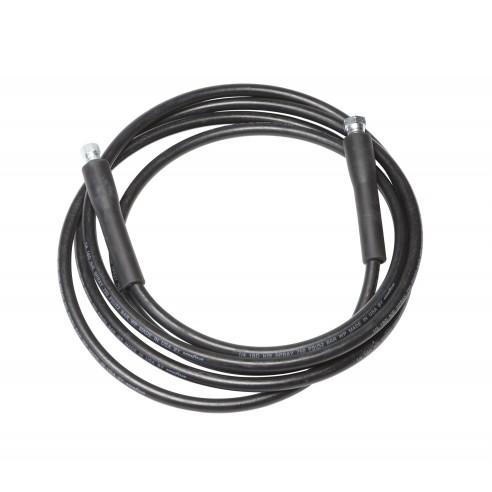 4 m long Black Rubber Hose for Infusion & RTM Adhesives TC42, TC43 and TC49