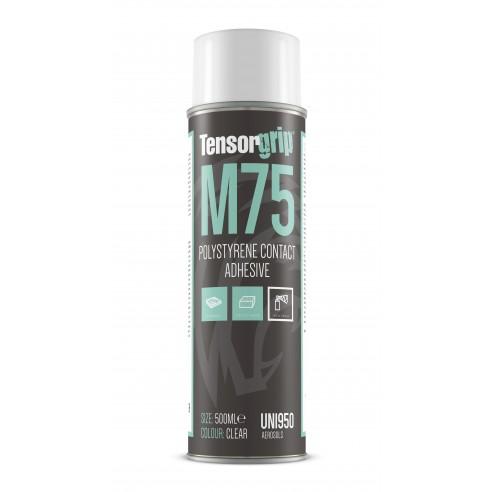 TensorGrip® M75 Green Polystyrene Adhesive x 500 ml Aerosol