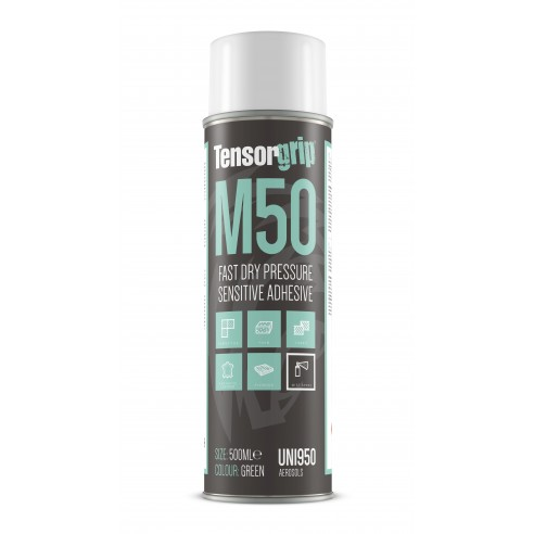TensorGrip M50 Fast Dry Pressure Sensitive Adhesive for Upholstery Applications