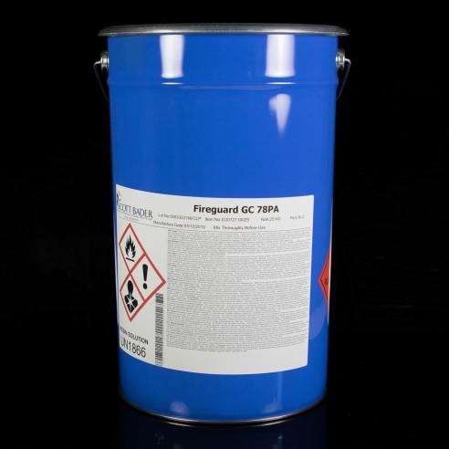 Feuerwehrmann GC 78PA Feuerhemmende Intumeszierende Spray Polyester-Gelcoat, weiß