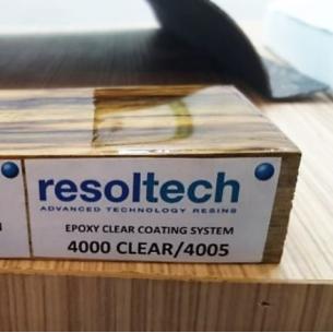 Resolcoat 4000/4005 De Acabamento Epóxi Transparente