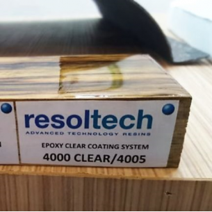 Resolcoat 4000/4005 Topcoat Epoxi Transparente