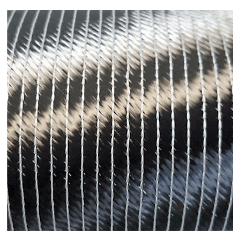 Triaxial weave carbon (0 / -45 / + 45) 450 g / m2 stiched type (sewing).