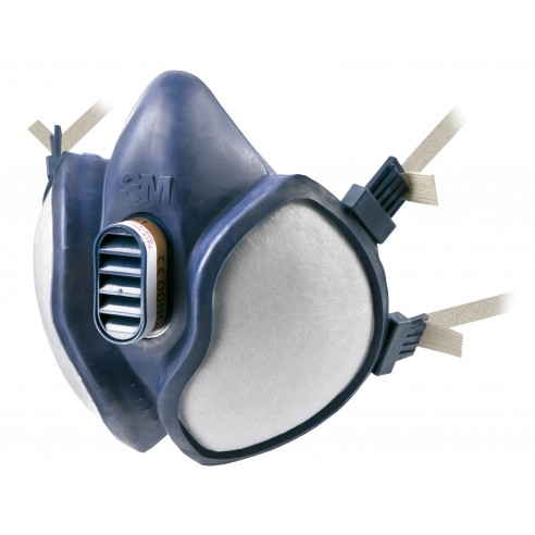 3M™ Maintenance Free Half Mask Respirator 6941 FFA1P1