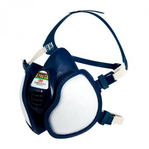 3M Maintenance Free Half Mask, FFABEK1P3 R D Filters, 4279+ For working with Epoxy Resins