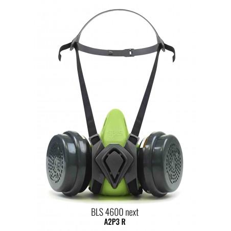 Halbmaske BLS4000next S b-lock, ohne Filter, Silikon-facepiece