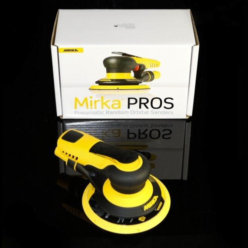 Mirka Pros ponceuse pneumatique 650cv 150mm