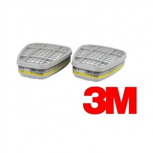 3M™ Gas and Vapour Cartridge, ABE1, 6057