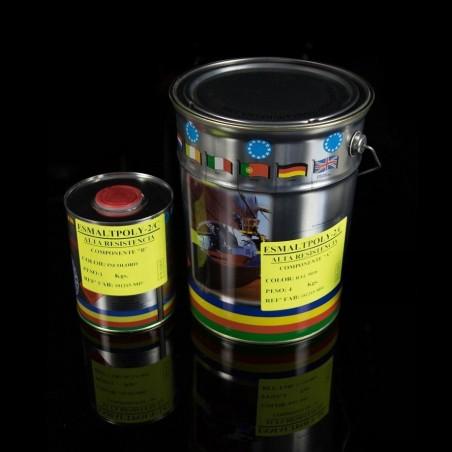 2K Acrylic Enamel Esmaltpoly 275 2K High Resistance white RAL 9010