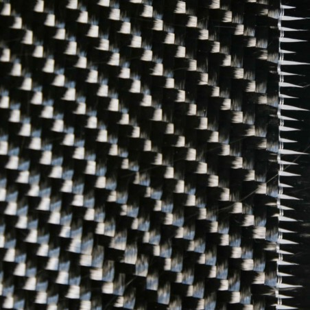 Tejido de Carbono 12K Sarga 2x2 de 650 g/m2 SPOT, ancho 125 cm
