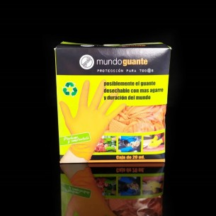 Diamond Nitrile Gloves (20 units)