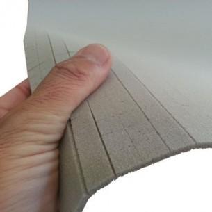 Espuma de PVC Divinycell H80 3 GS10 Scrim de 3 mm