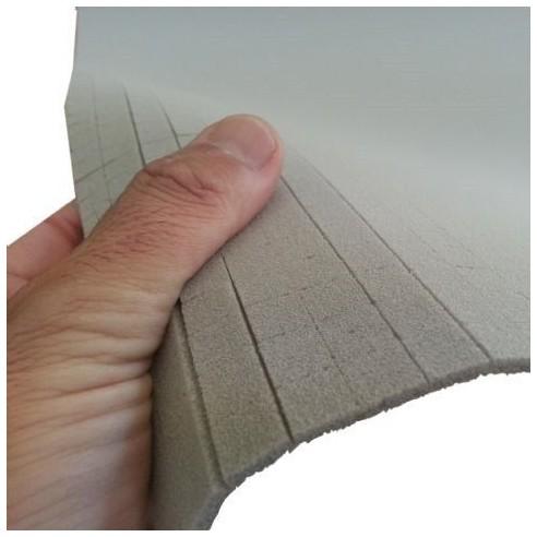 PVC foam Density 80 kg/m³ SCRIM-SLOT 3 mm x 0.99186