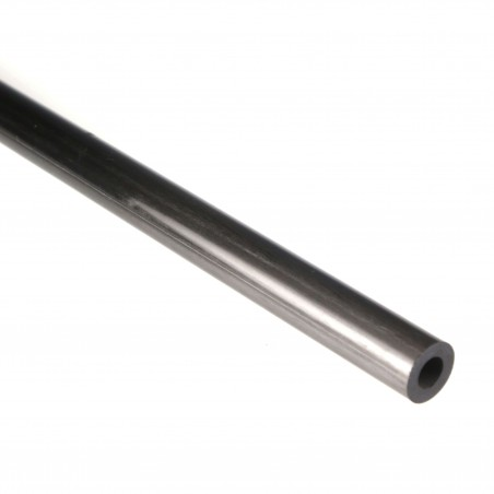 Round Carbon Tube, D. 15 mm, int. 8 mm, thickness 3.5 mm